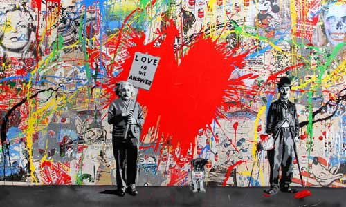 Mr. Brainwash Arte urbano, Barcelona, digerible