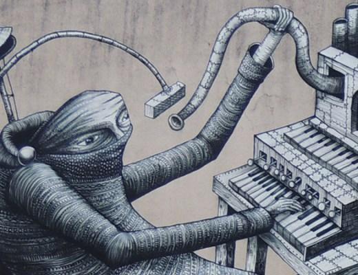 Phlegm - Dunedin Festival de arte urbano 2014 digerible