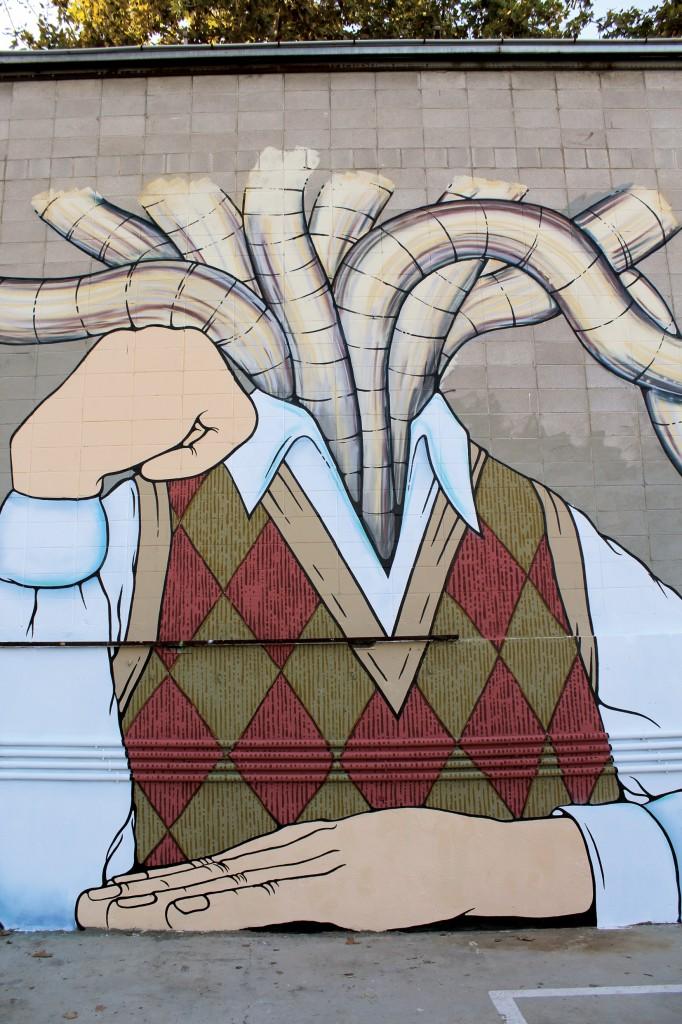 Arte Urbano - Enric Font - Digerible