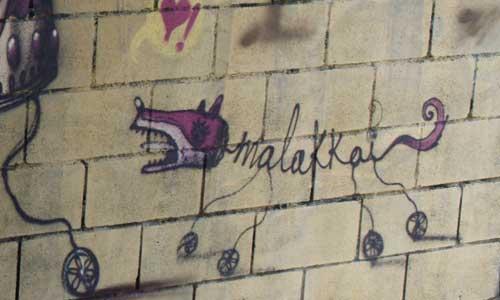 Arte Urbano - Malakkai - Digerible