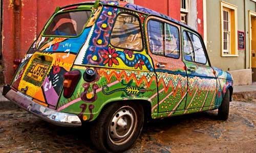 arte urbano Valparaíso, Chile digerible