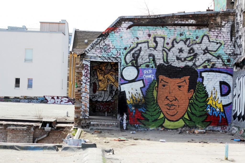 Arte urbano Berlin, Alemania, digerible