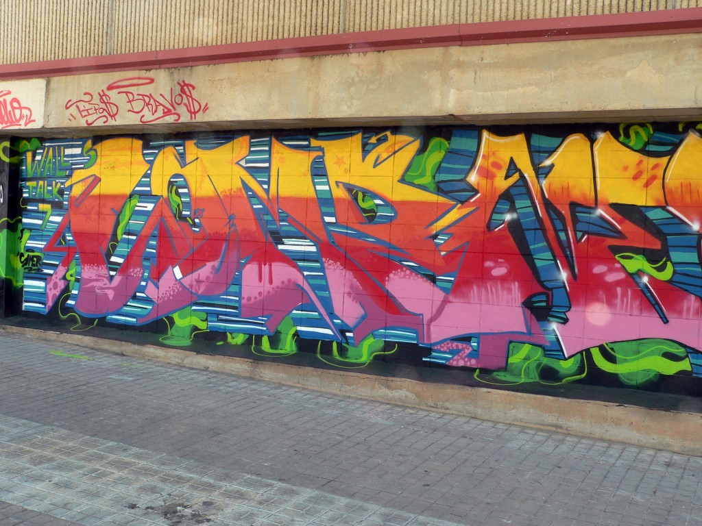 Arte urbano Sabadell, Digerible
