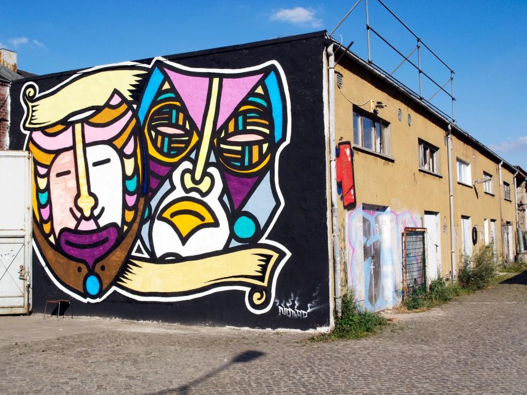Nomad, arte urbano en Berlín