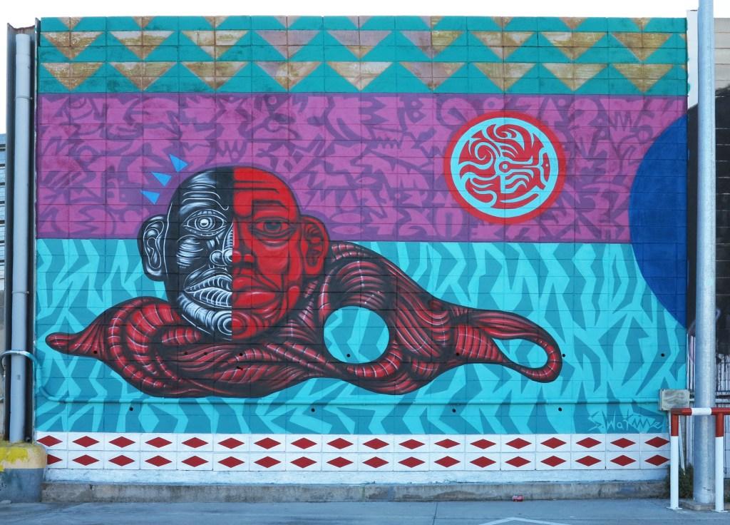 Sebastien Waknine, arte urbano, Barcelona
