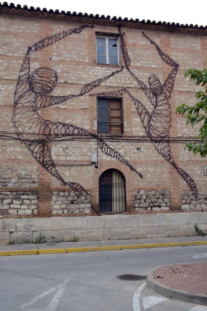 Suso33 arte urbano en Tudela España
