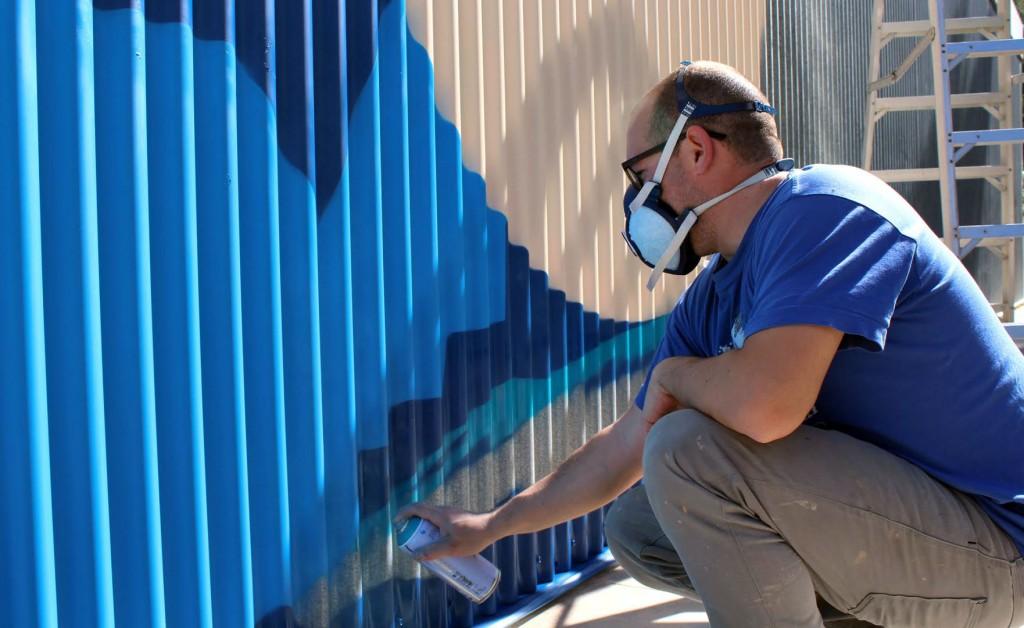 Spogo arte urbano en Mallorca