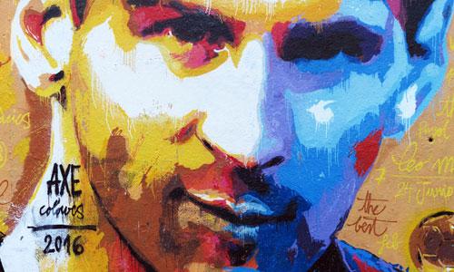 Axe Colours arte urbano Barcelona