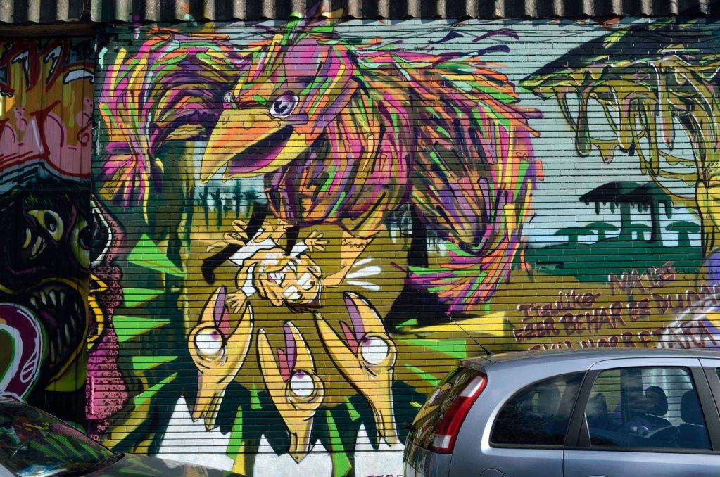 Arte urbano Zorrotzaurre Bilbao