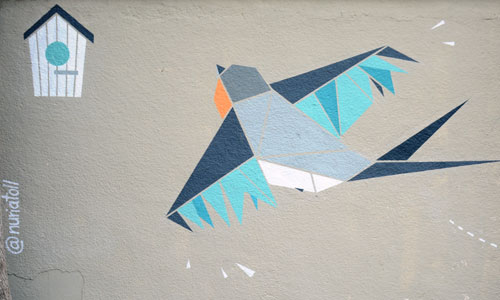 Núria Toll Arte urbano Barcelona