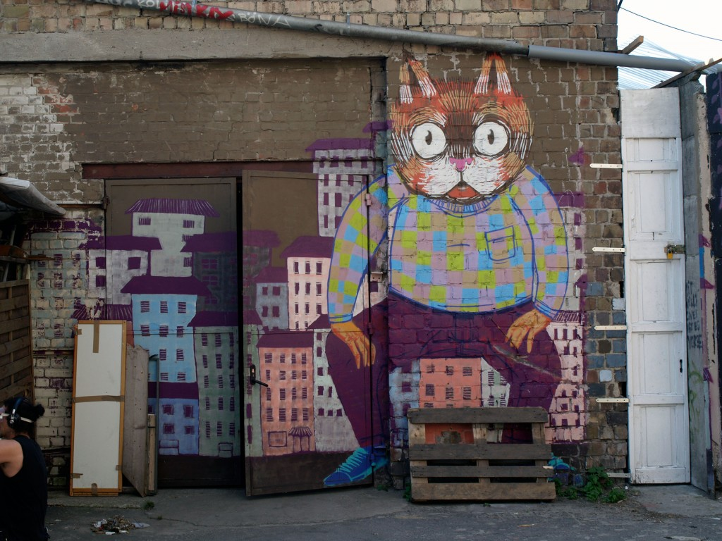 Thiago Goms, arte urbano Berlin, Alemania