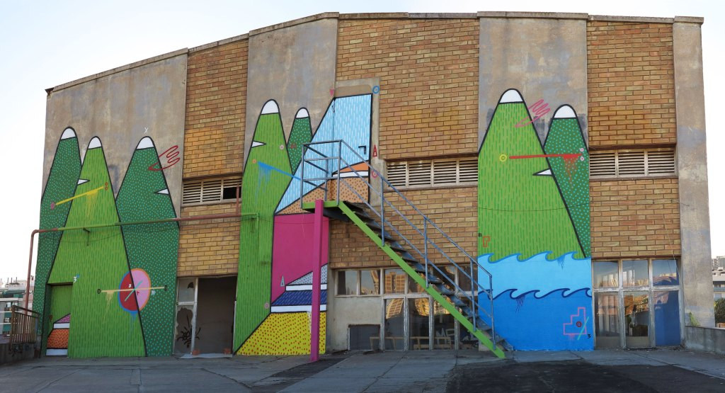 Sixe Paredes arte urbano en Barcelona