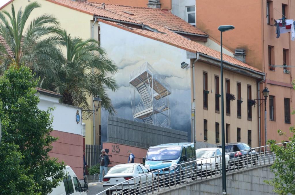 Michael Grudziecki arte urbano en Bilbao