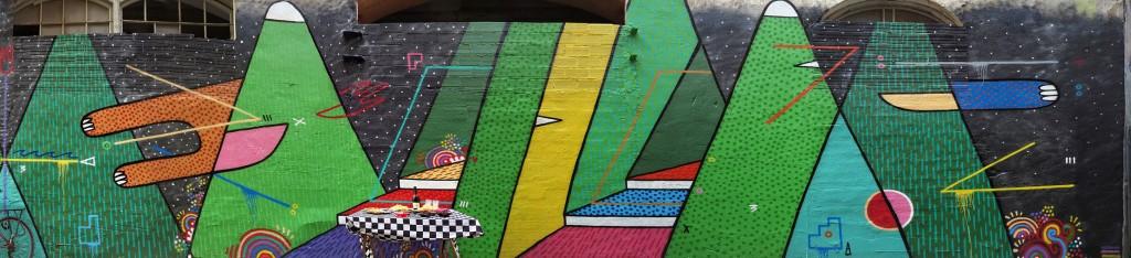 Sixe Predes arte urbano en Barcelona