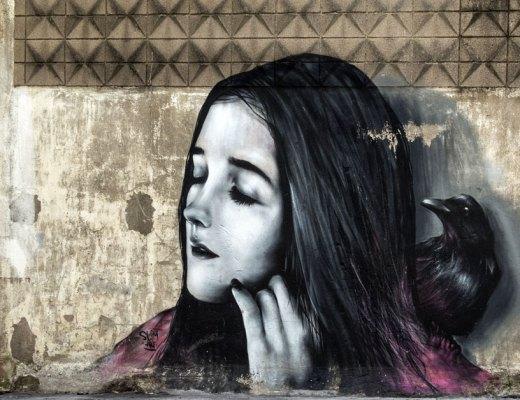 Arte urbano en Cal Rosal, España