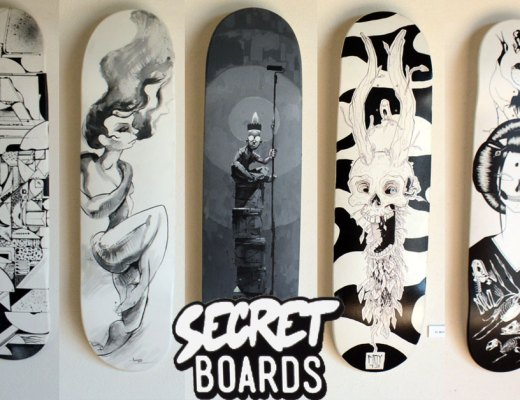 Secret Boards arte urbano españa