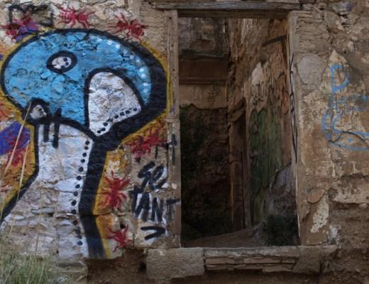 antpintura y Seta arte urbano