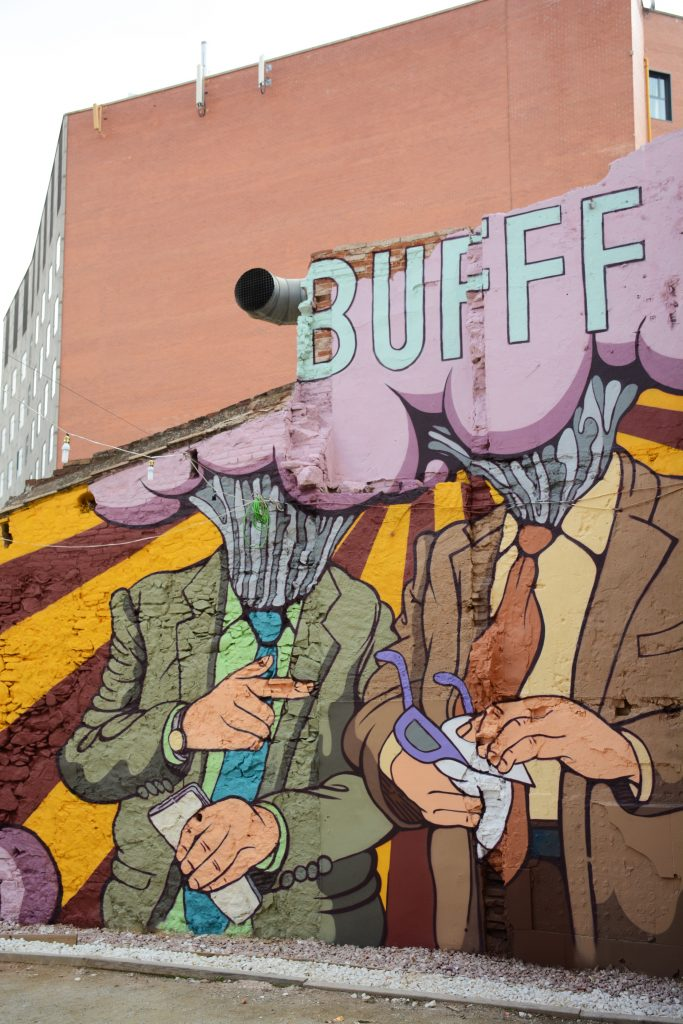 Enric Font arte urbano en Barcelona