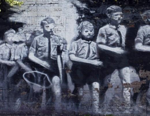 Axel Void arte urbano en Berlín