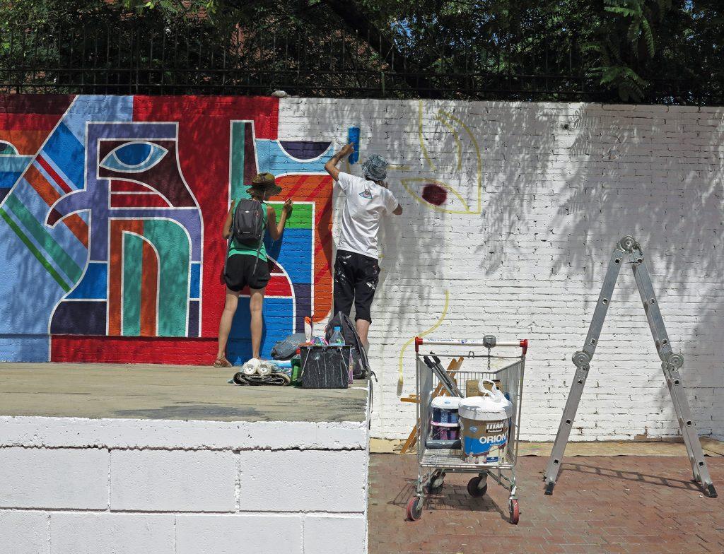 Arte urbano ERB MON, Barcelona