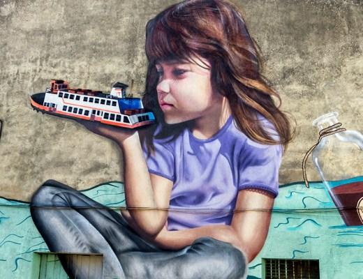 arte urbano Smile Portugal