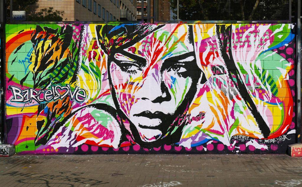 Jo Di Bona arte urbano en Barcelona