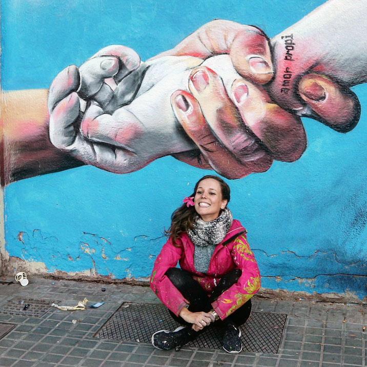 Arte urbano en Barcelona, Lily Brik