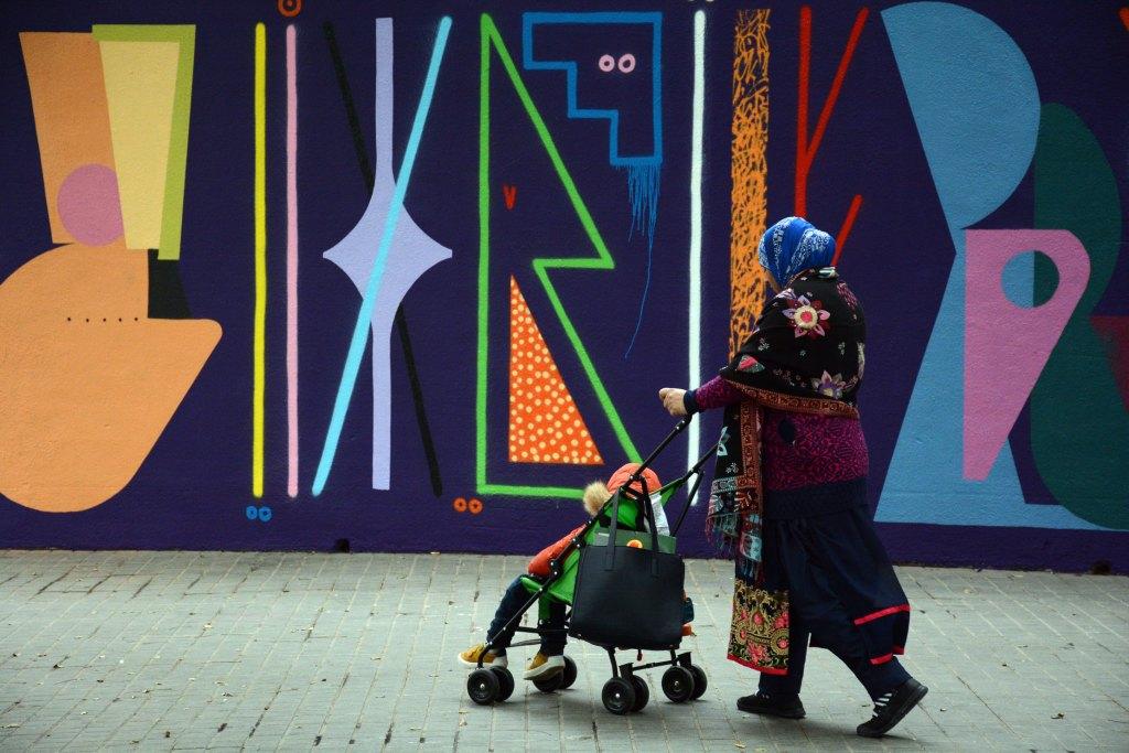 Spogo & Sixe Paredes arte urbano en el Arnau Gallery - Barcelona