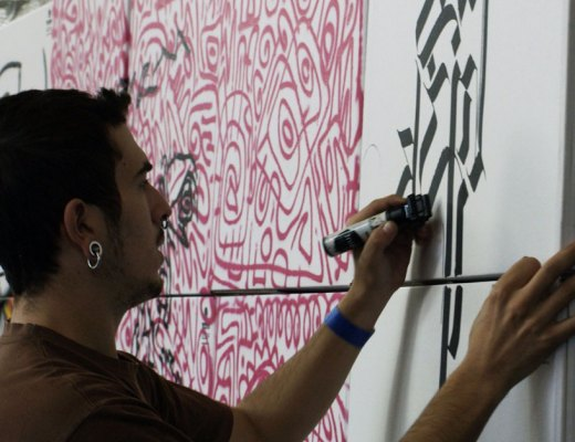 Arte urbano hacid Magazine 43 Mugraff