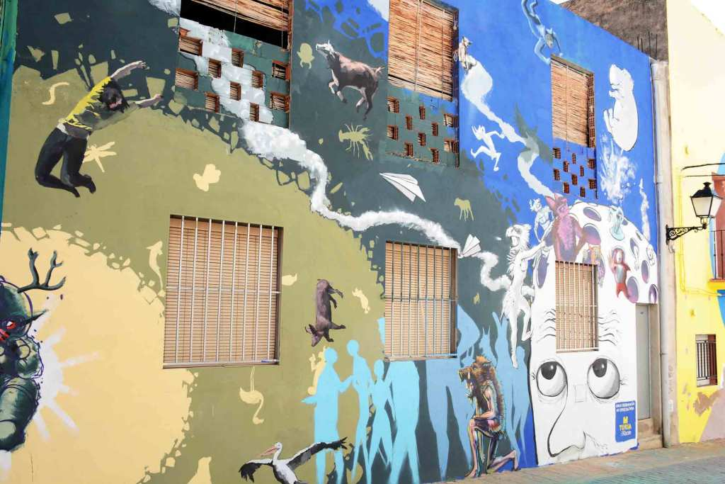 Museo Inacabado de Arte Urbano en Fanzara 2018