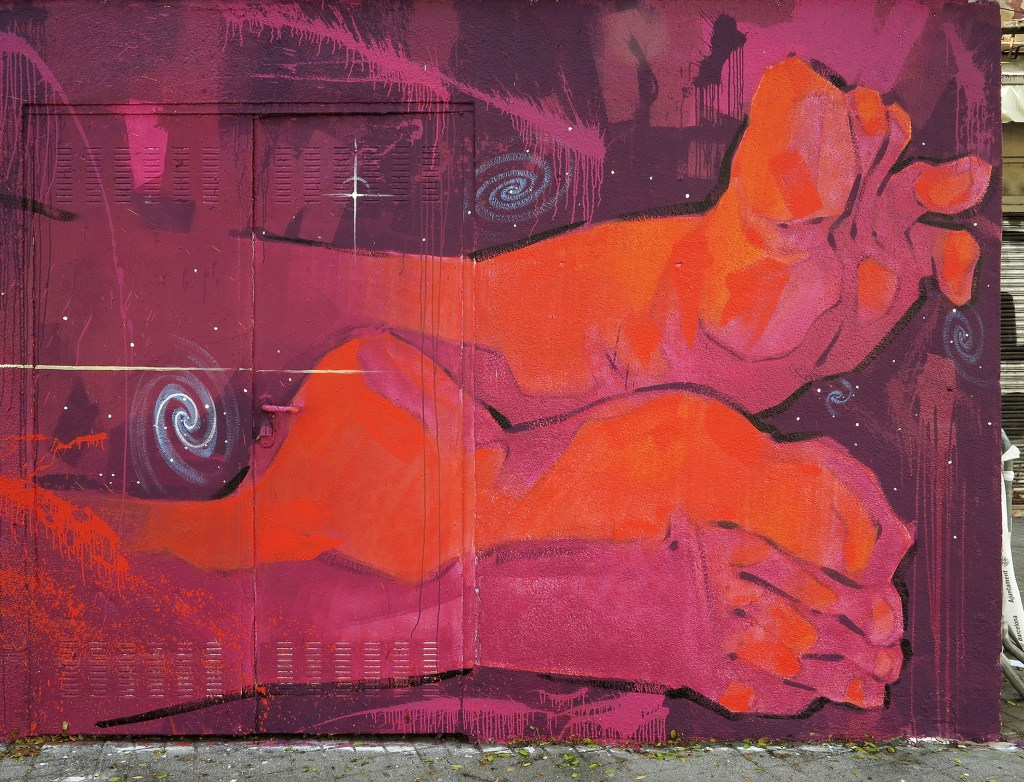 arte urbano Arnau Gallery Inti Mar
