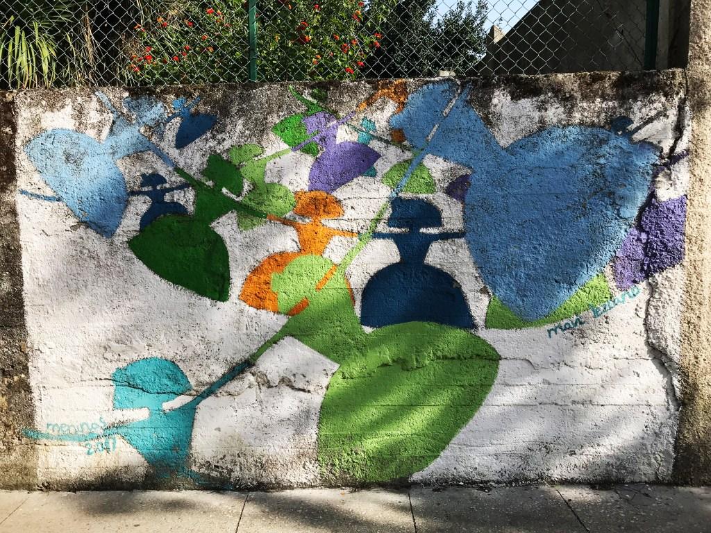 arte urbano Meninas de Canido