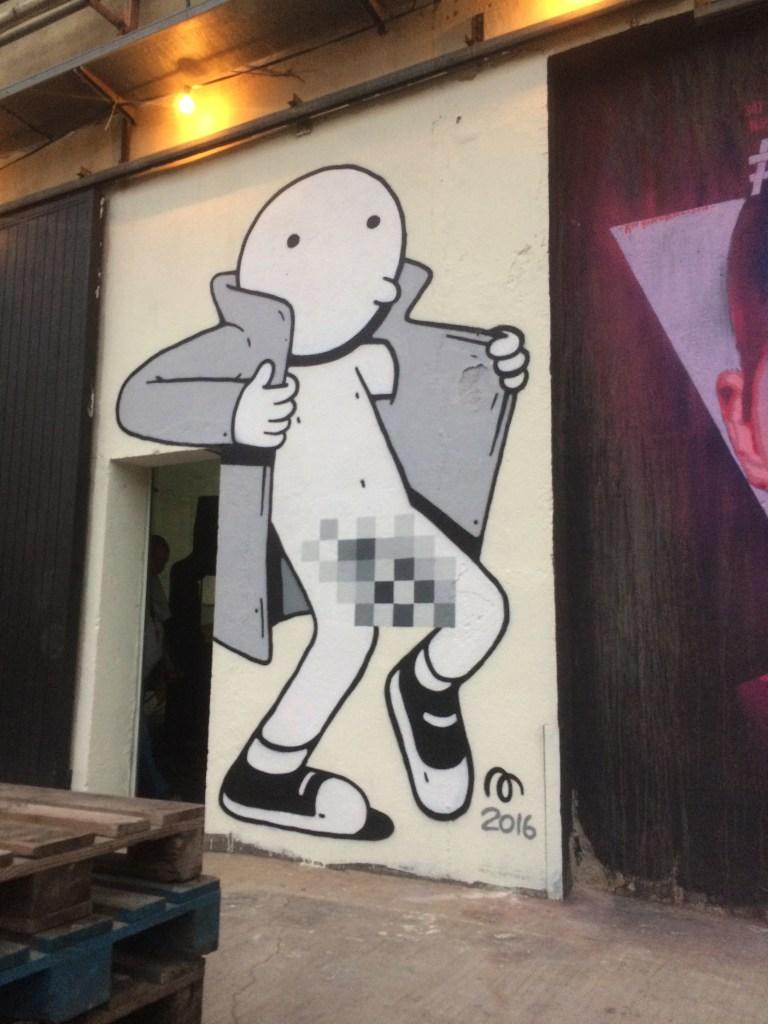 Arte urbano Nau Bostik Barcelona