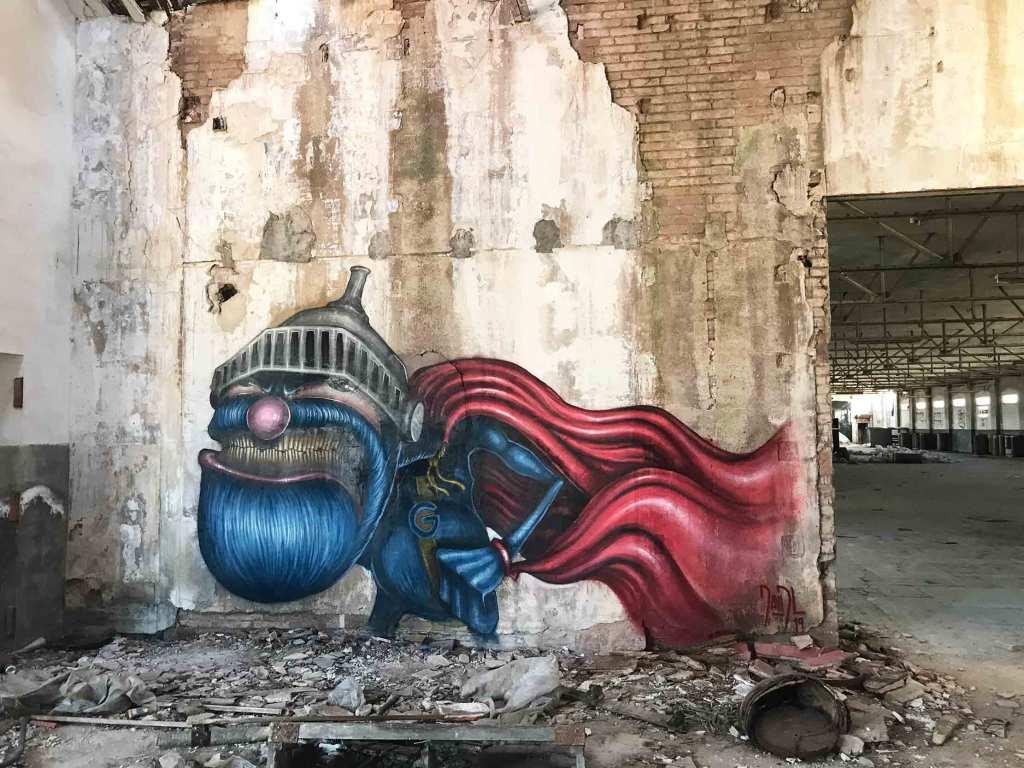 Arte urbano DavidL Barcelona