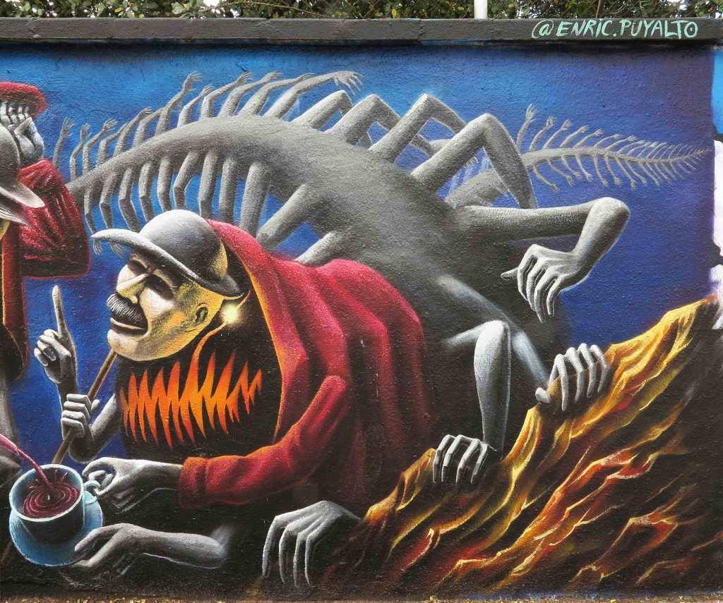 Enric Puyalto arte urbano en Barcelona