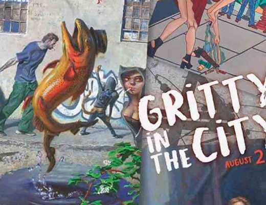 arte urbano Gritty In The City, Portland, Oregon