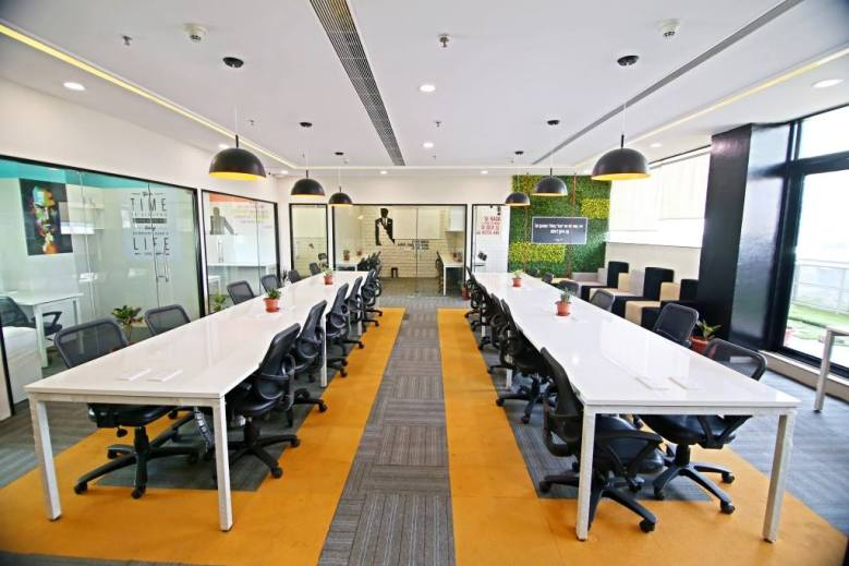 coworking spaces in delhi myHQ AltF Coworking