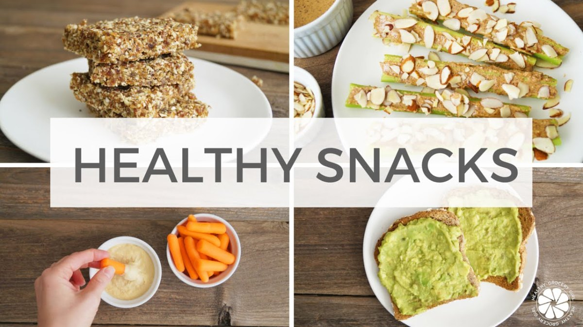 10 Delicious Healthy Snacks To Keep At Your Office Desk