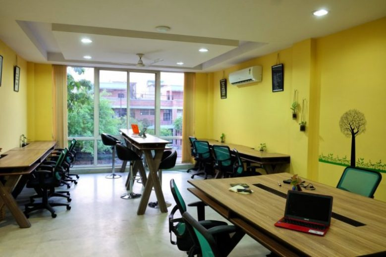 coworking spaces in delhi myHQ Sproutbox
