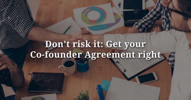 Why Startups Must Have A Co-Founders' Agreement