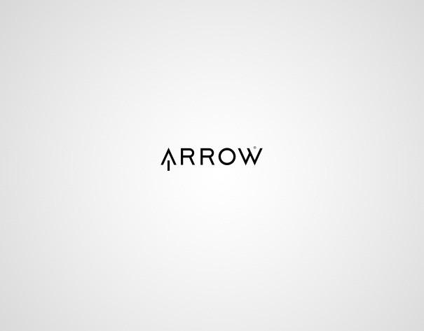 logo design myhq arrow