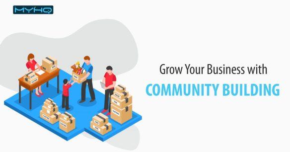 community building myHQ