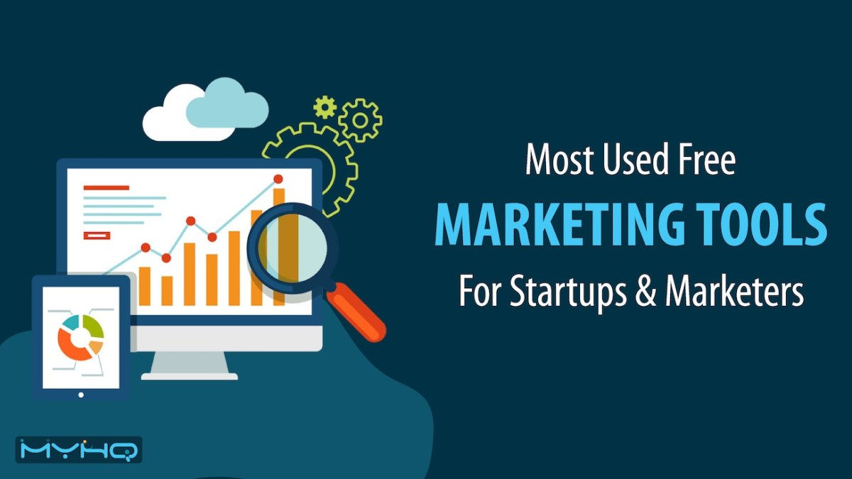 16 Most Used Free Marketing Tools For Startups & Freelancers