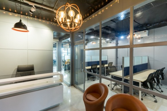 coworking space in Udyog Vihar myHQ cover