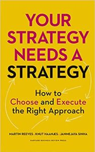 business strategy books - your strategy needs a strategy