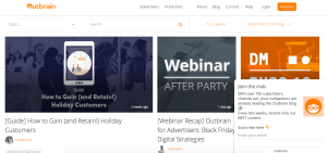 Outbrain - guest posting