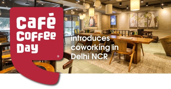 Cafe Coffee Day myHQ coworking