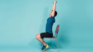 Torso Stretch Fitness Exercise At Home