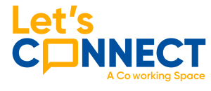 Let's Connect coworking logo