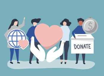 Entrepreneurs donate and help in society building